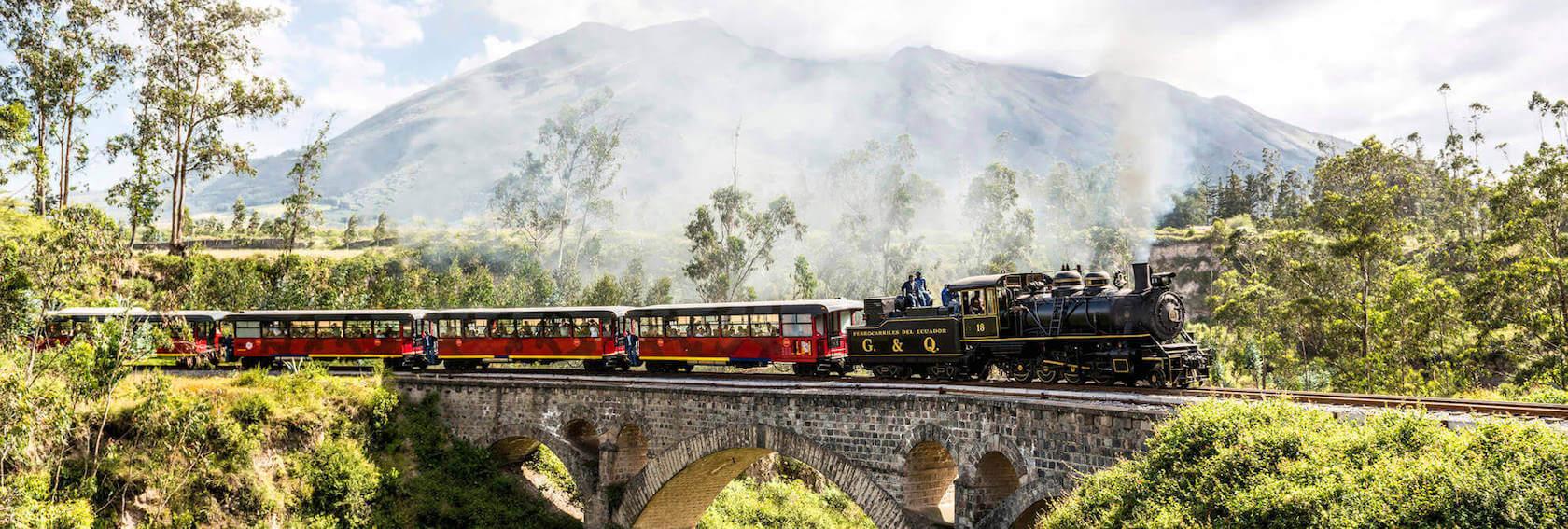 Bahnreisen Ecuador