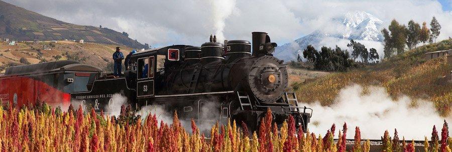 Bahnreisen Ecuaor - Tren Crucero