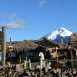 Chilcabamba mit Alpaka