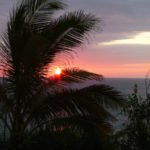 Sonnenuntergang Küste Ecuador