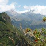 Illinizas - Sicht auf dem Weg nach Quilotoa