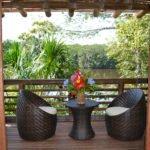 Selva Lodge - Terasse einer Cabana