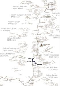 Route Tren del Hielo, Ecuador