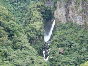 Pailon del Diablo - Wasserfall Ecuador