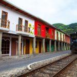 Bahnstation Ecuador