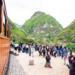 Unterwegs mit dem Zug in Ecuador