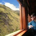 Aussicht Zug Ecuador
