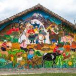 Indigene Wandmalerei