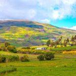 Paramo Landschaft