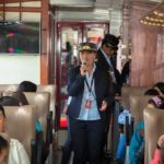 Schaffner Zug Ecuador