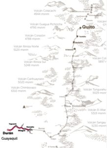Zugfahrt Pazifikküste Ecuador